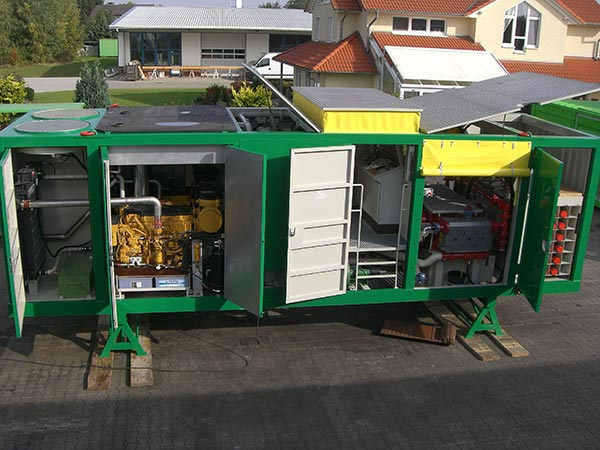 Twin Pump Container HPS TPC